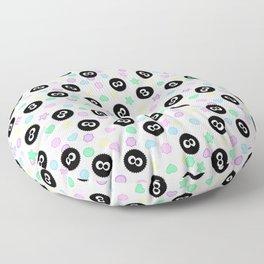 susuwataru kawaii pattern Floor Pillow