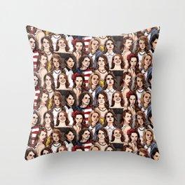 LDR Wallpaper Throw Pillow