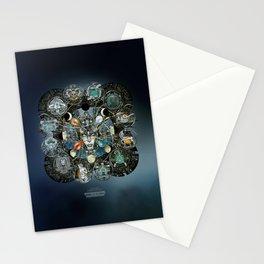 """Astrological Mechanism - Zodiac"" Stationery Cards"