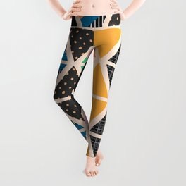 Triangle collage Leggings