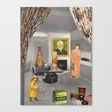 (Acting Like) Some Kind Of Fifties Housewife II Canvas Print