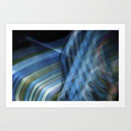 Ribbon Waterfall Art Print
