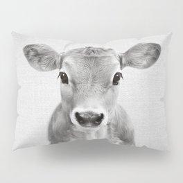 Calf - Black & White Pillow Sham