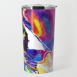 Watercolor my Jimmy Travel Mug