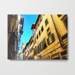 A Florentine Valley Metal Print