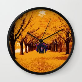 robot war game Wall Clock