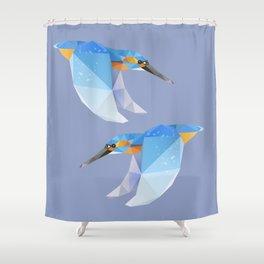 Kingfisher. Shower Curtain