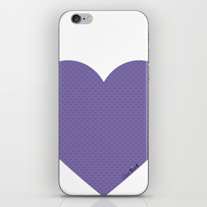 I love you this much... (purple) iPhone Skin