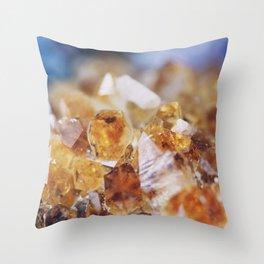 Citrine Light Throw Pillow