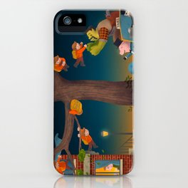 Let the Adventure Begin! iPhone Case
