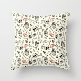Grunge Pattern by Javi Codina Throw Pillow
