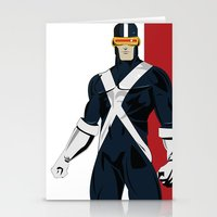 cyclops Stationery Cards featuring Cyclops by Andrew Formosa