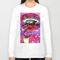 superheros Long Sleeve T-shirts featuring Buddies by grapeloverarts