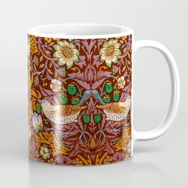 "William Morris ""Strawberry Thief"" 3. Coffee Mug"