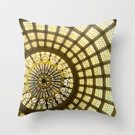 Tiffany Dome Throw Pillow