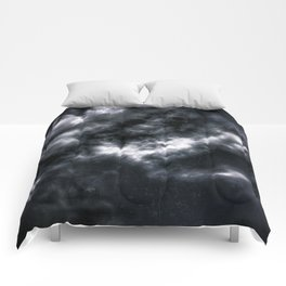 Dark Clouds Comforters