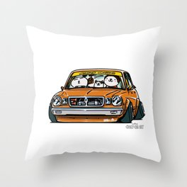 Crazy Car Art 0146 Throw Pillow