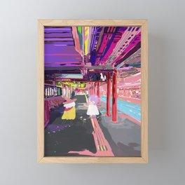 Inari Station Framed Mini Art Print