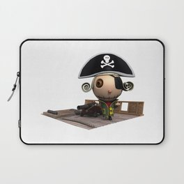 Pirate on Boat Laptop Sleeve