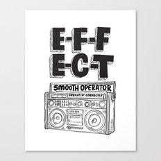 Smooth operator Canvas Print