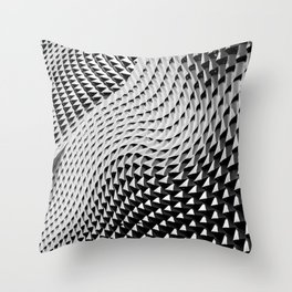 Urban Waves Throw Pillow