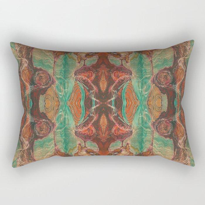 Ecstatic Pelvis (Meat Flame) (Reflected) Rectangular Pillow