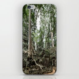 Ta Phrom, Angkor Archaeological Park, Siem Reap, Cambodia iPhone Skin