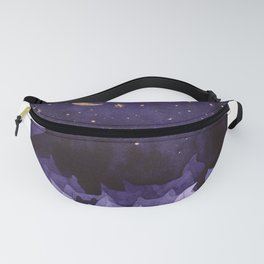 purple cats Fanny Pack