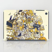 movies iPad Cases featuring Movies Explosion by zaMp