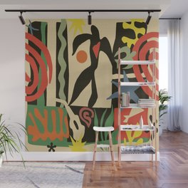 Inspired to Matisse (vintage) Wall Mural