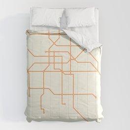 Metro DF - Beige Comforters