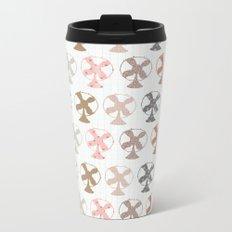 fans pattern Metal Travel Mug