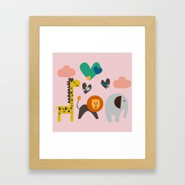 Jungle Fun Framed Art Print