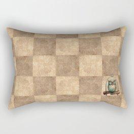 Pathchwork Owl Rectangular Pillow