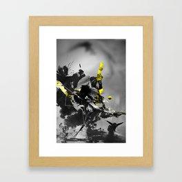 No longer wonderland Framed Art Print