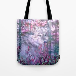 Forest Ghost Tote Bag
