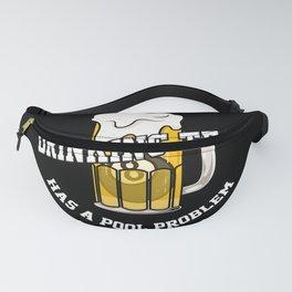 Billard & Drinking - Cue Sports Pool Player Gift Fanny Pack