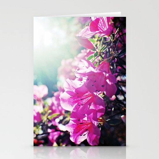 A Flare of Spring Stationery Cards