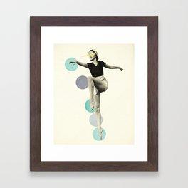 The Rules of Dance I Framed Art Print