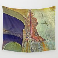 concrete Wall Tapestries featuring Concrete by RDKL, Inc.