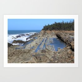 Shore Acres State Park, Coos Bay, OR Art Print