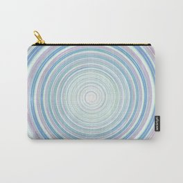 Re-Created Spin Painting No. 2 by Robert S. Lee Carry-All Pouch