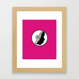 Kizomba Harmony rosa Framed Art Print