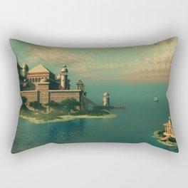 Mystic Fantasy Island Rectangular Pillow