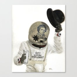 Clockwork Calavera Canvas Print