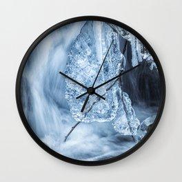 Ice and Water, No. 1 Wall Clock