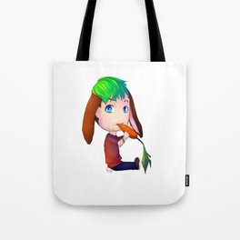 Jackabunny Tote Bag
