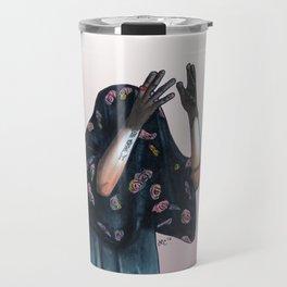 Floral Ghost Travel Mug