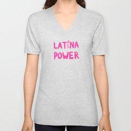 Latina Power Unisex V-Neck