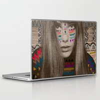 jane eyre Laptop & iPad Skins featuring JANE by Kris Tate